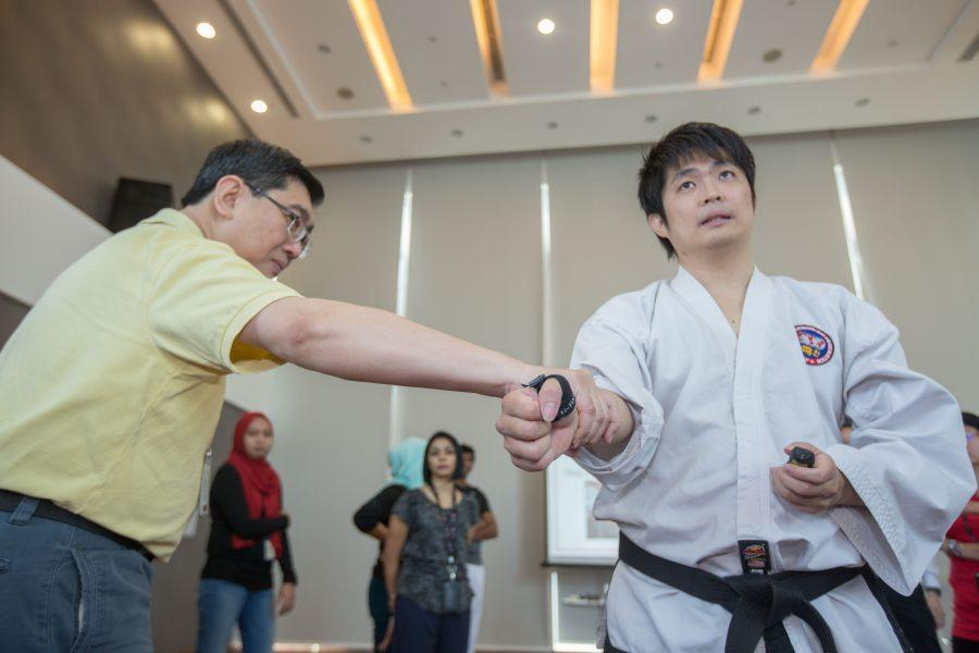 Giving back through self-defence