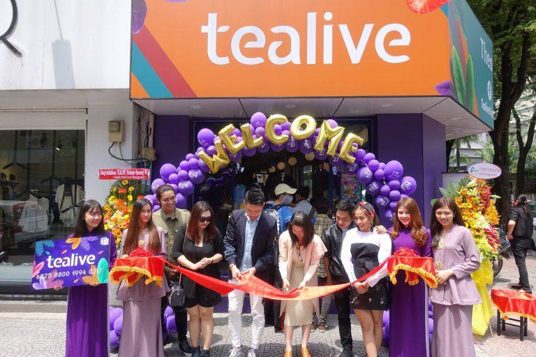 500 Tealive outlets to open in China within 3 years