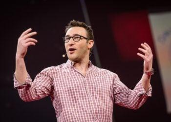 Simon Sinek at TED2014, The Next Chapter, Session 11 - Unstressed, March 17-21, 2014, Vancouver Convention Center, Vancouver, Canada. Photo: James Duncan Davidson