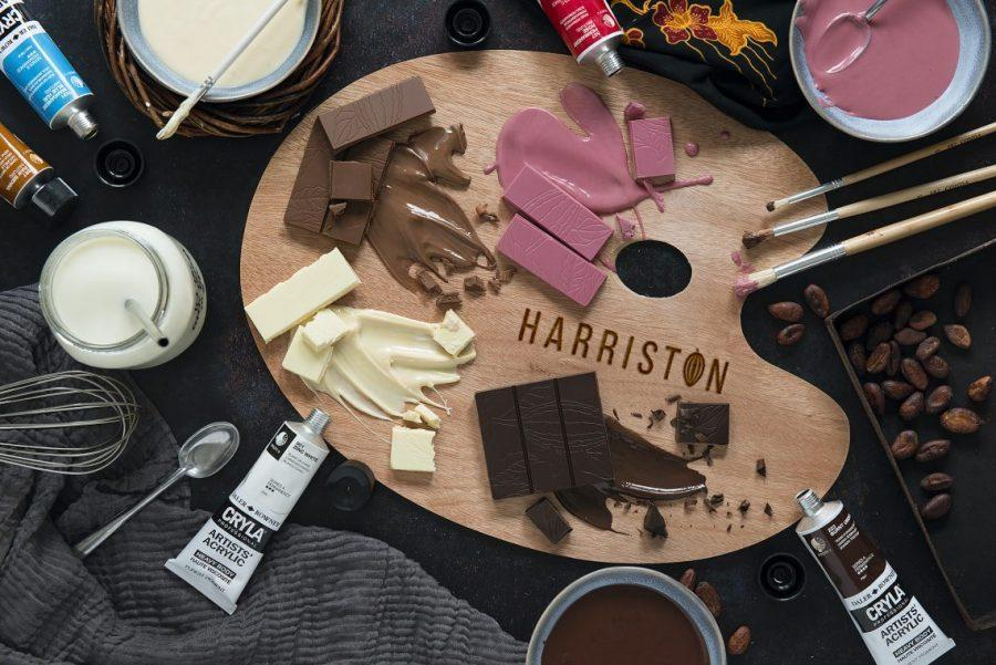 Harriston Rose Pink Chocolate Is Not White Chocolate With Colouring