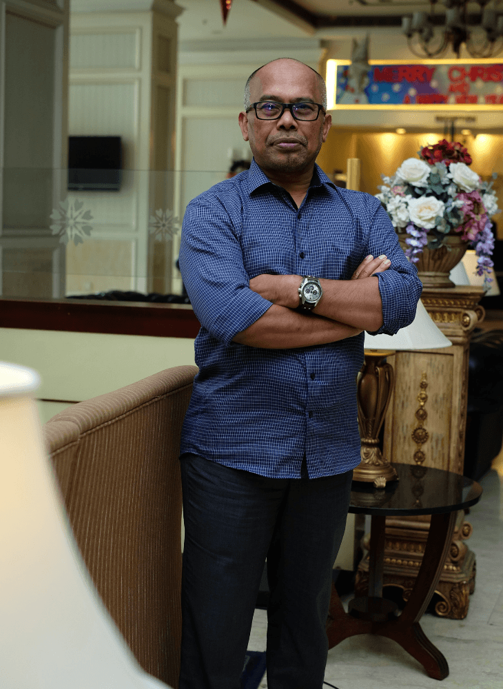 Bounced Back From Bankruptcy: Azhar Md Yusoff