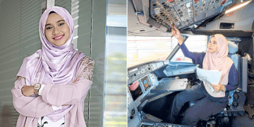 Believe It Or Not, This Young Mother Is Working As Aircraft Avionics Technician!