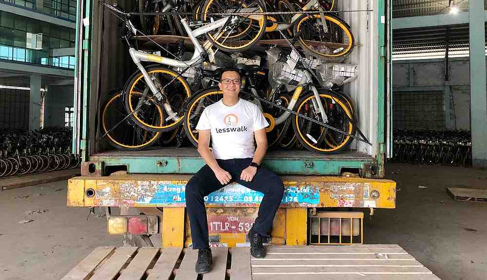 This Entrepreneur Bought 10,000 Recycled Bicycles For Children in Myanmar