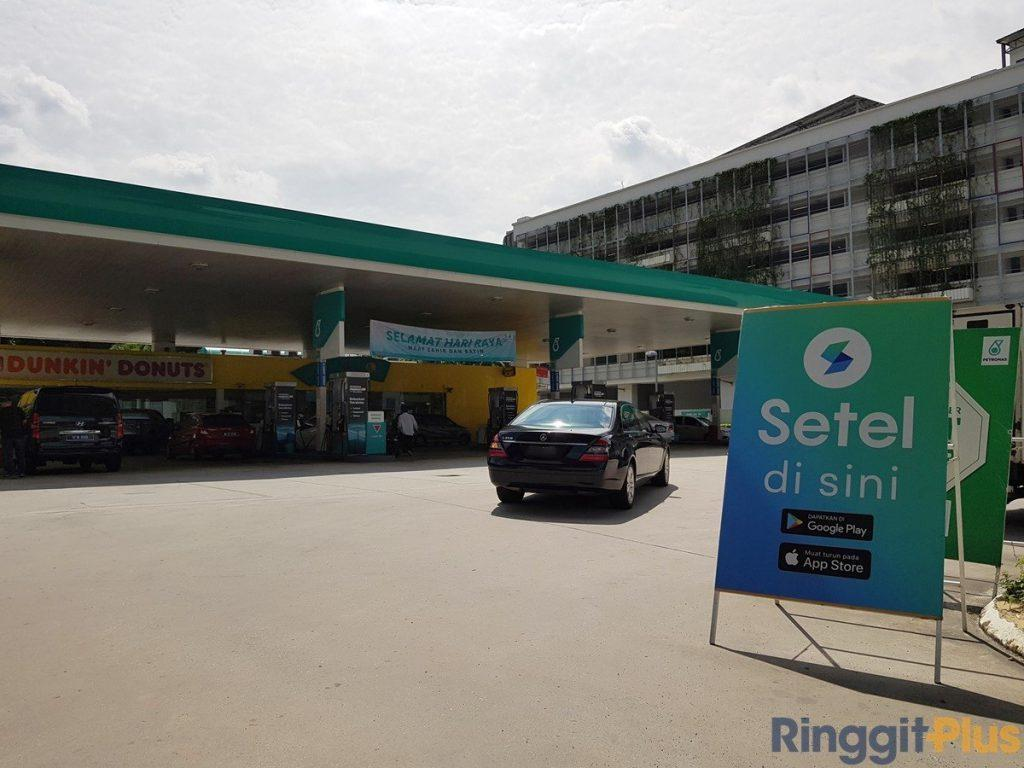 Fill Up Your Tank At Petronas With Setel e-Wallet
