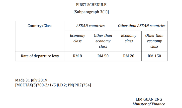 No More Cheap Flight Ticket As Travellers Need to Pay Departure Tax Of Up to RM150