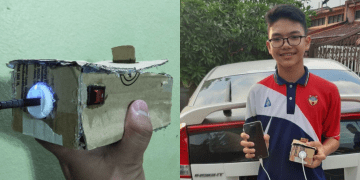 His Brother Couldn't Afford To Buy A Powerbank, So He Made One From Scratch