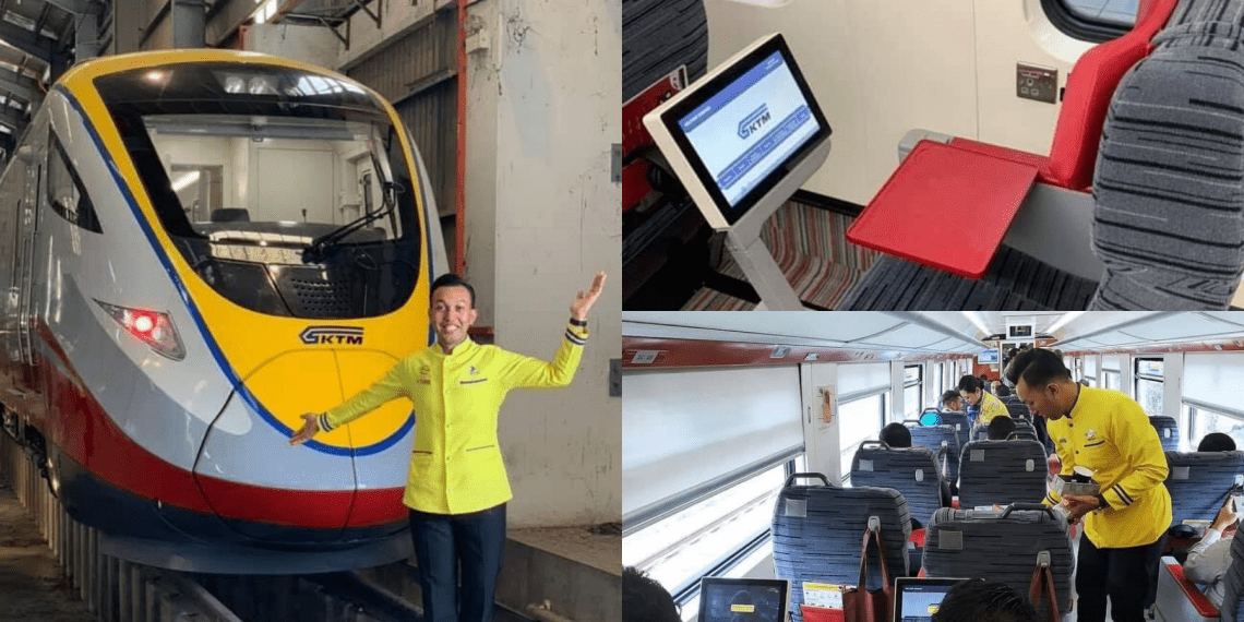 ETS Business Class Offers Free Wifi and Free Meal