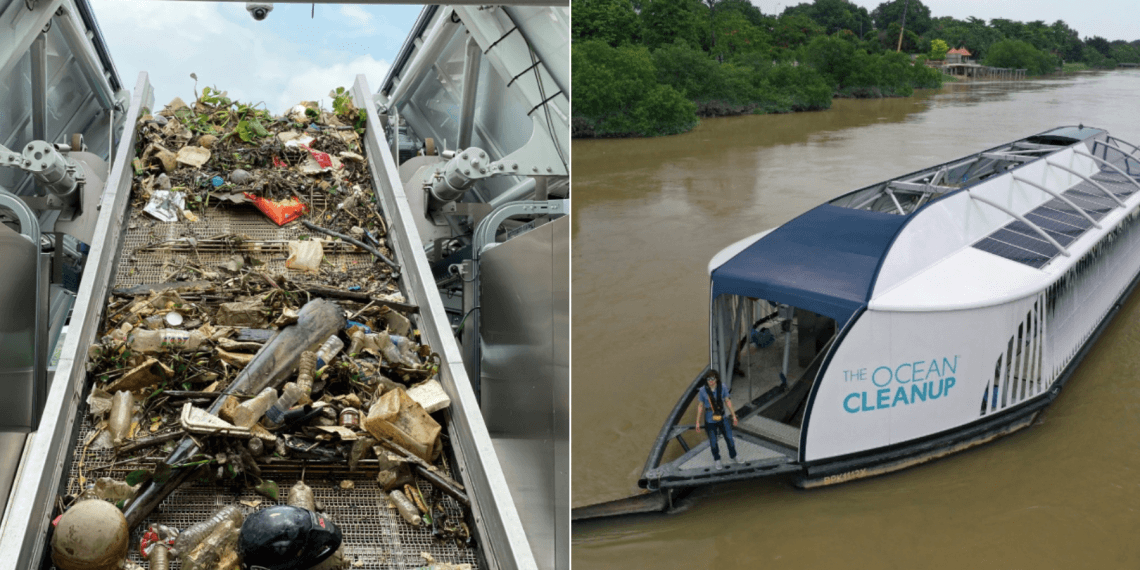 You Won't Believe What This Giant 'Vacuum' Found While Cleaning The Polluted Klang River