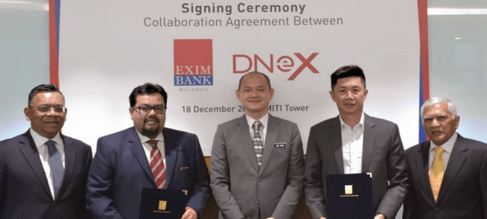 EXIM Bank Teams Up With DNeX to Accelerate Export and Investment Businesses Globally