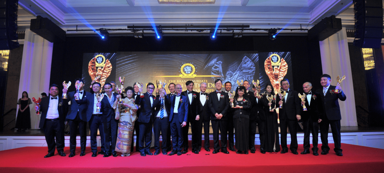 The Greatest Award of the Decade: The BrandLaureate Brand Icon Leadership Awards