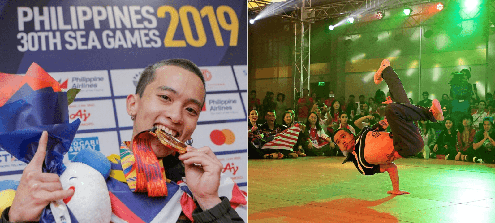Malaysian Breakdancer Lego Sam is The First-Ever Winner in SEA Games