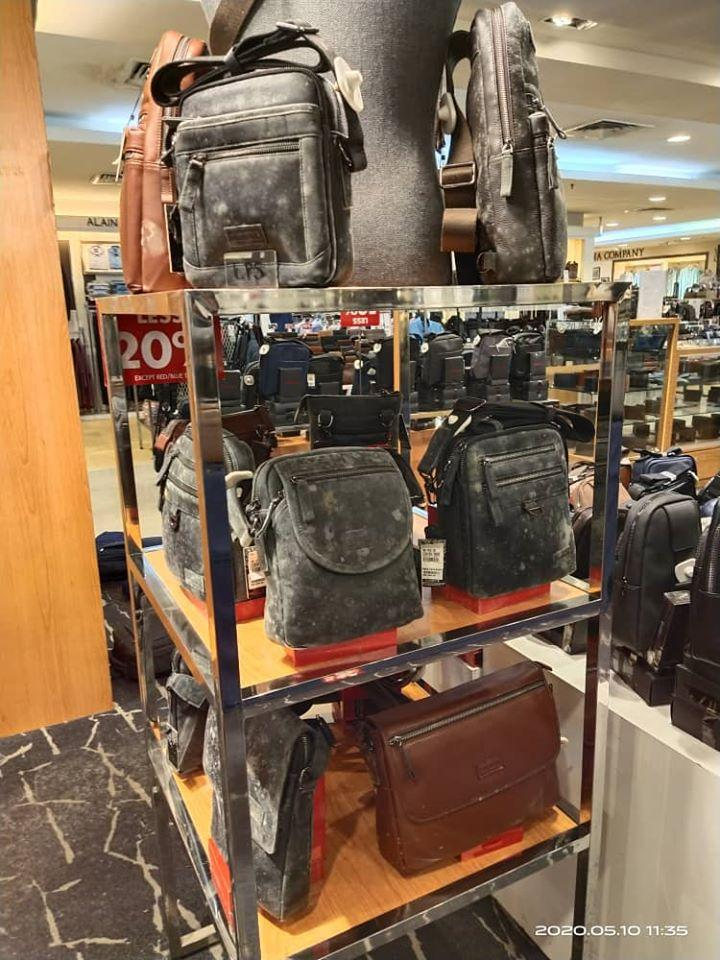 Department Store's Branded Items Covered In Mould After 2 Months of Shutdown