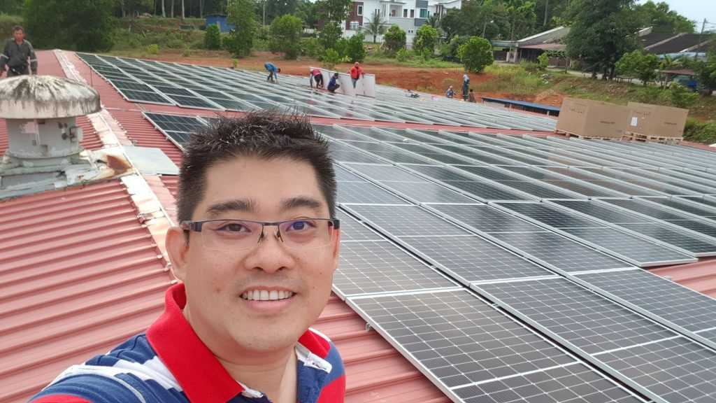 The CEO of Tera VA Shares His Mad Idea of Selling Solar Energy to TNB, But No One Believes In Him