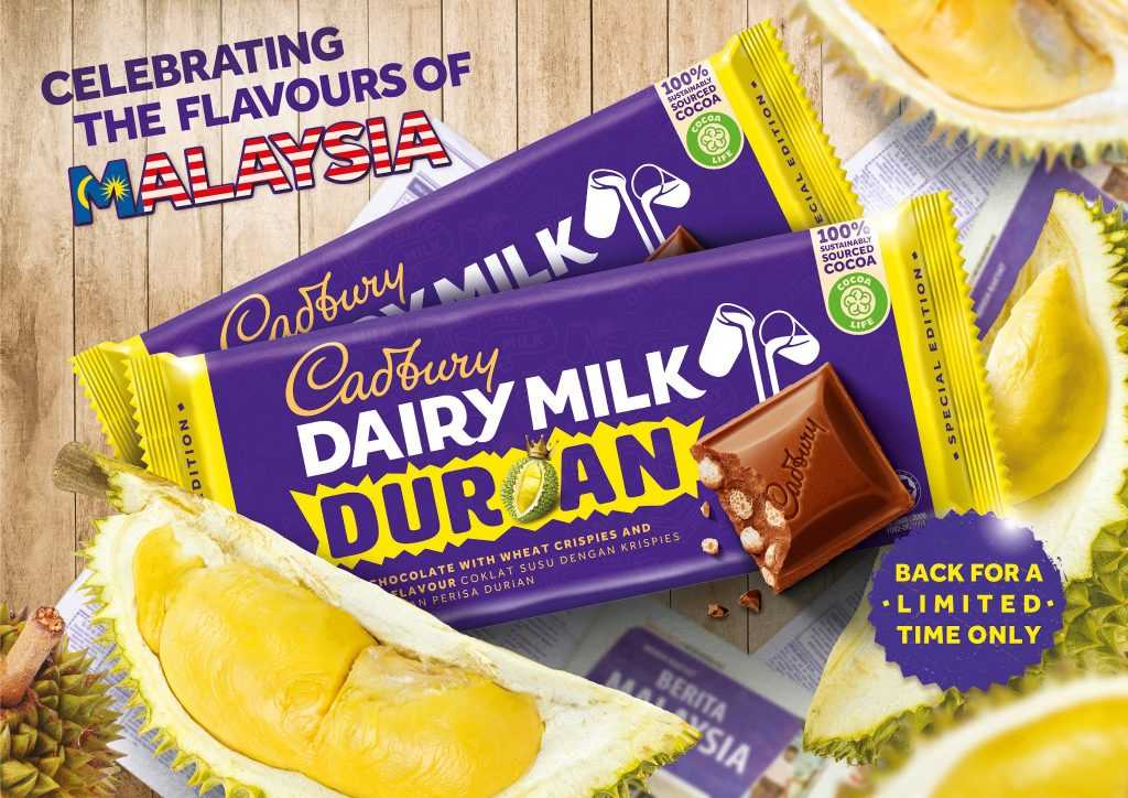 You Either Love This New Limited Edition Cadbury Dairy Milk Durian Flavour Or Hate It