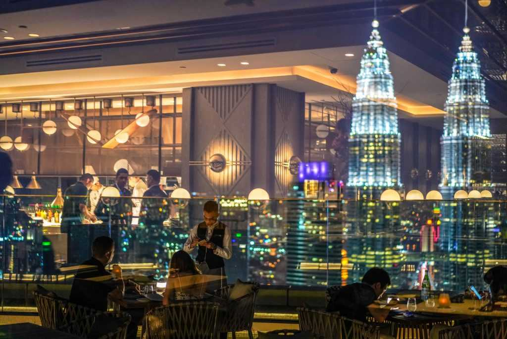 Dining At Horizon Grill @ Banyan Tree, KL With A Gorgeous View Of KLCC & KL Tower