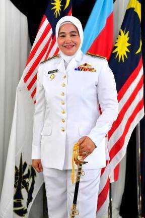 Captain Rohana Creates History As First Woman Admiral In The Royal Malaysian Navy